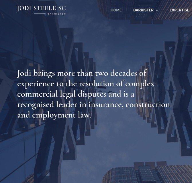 Jodi Steele SC case study