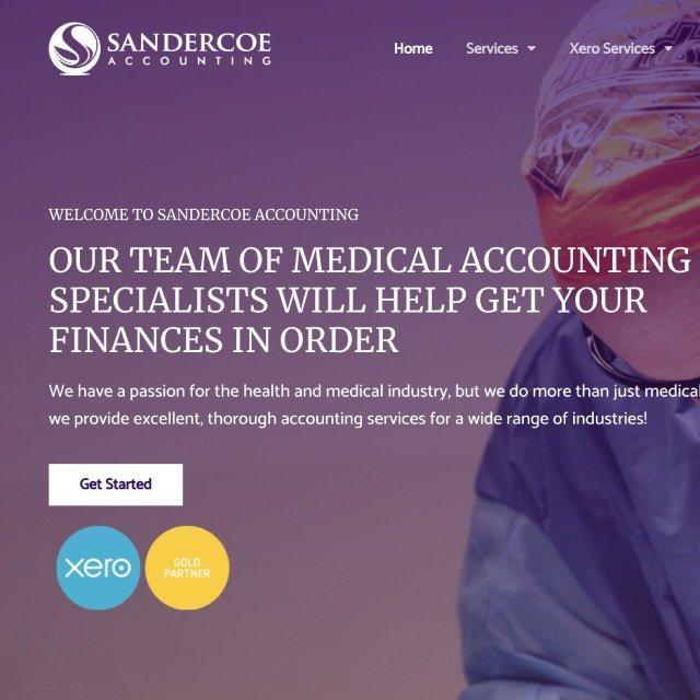 Sandercoe Accounting case study